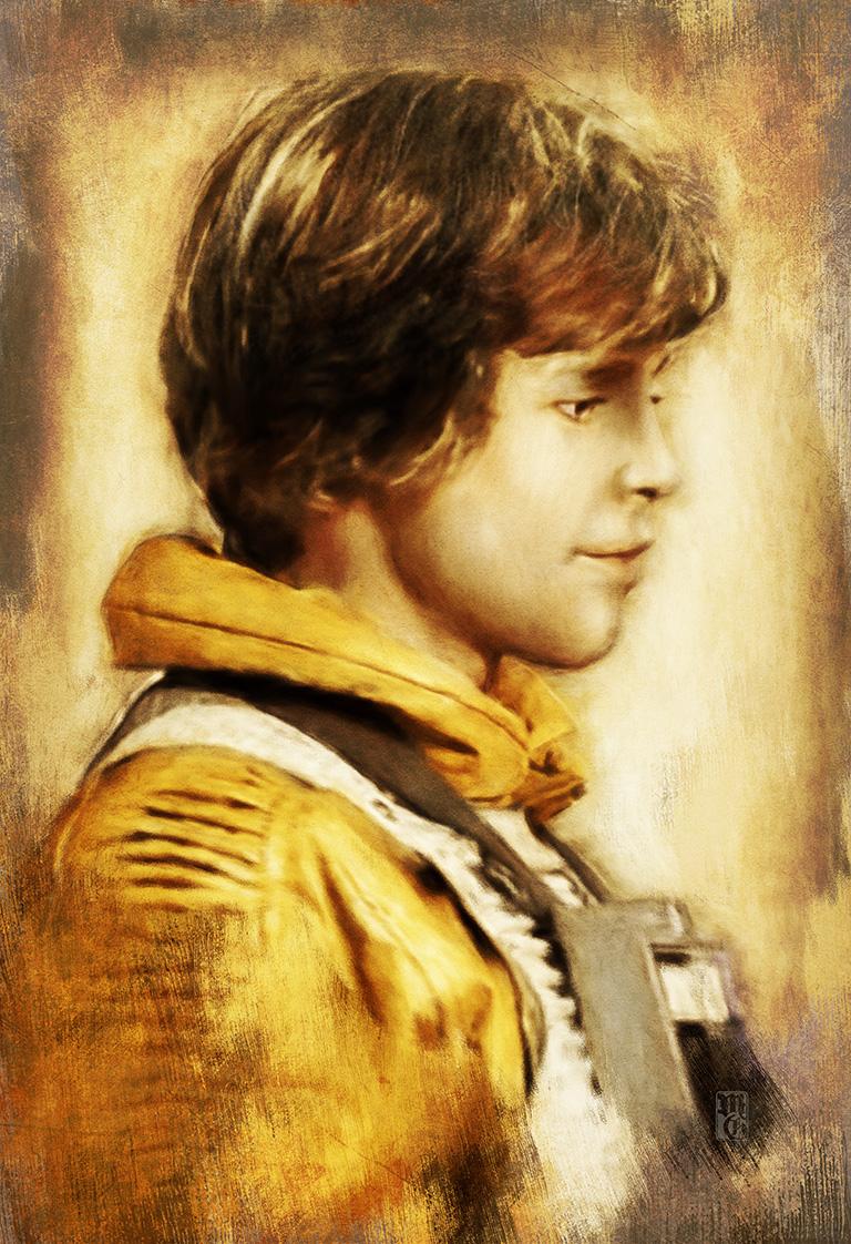 Portrait of Luke Skywalker