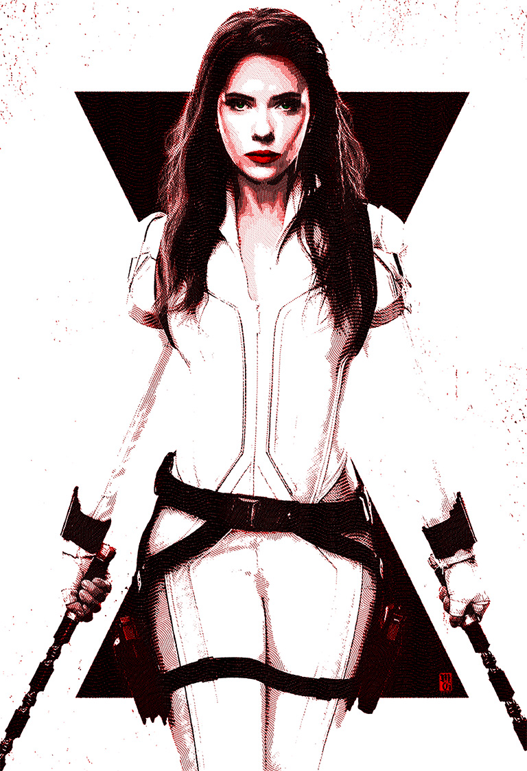 Black Widow illustration
