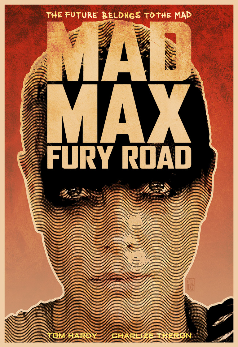 Alternative movie poster for Mad Max: Fury Road