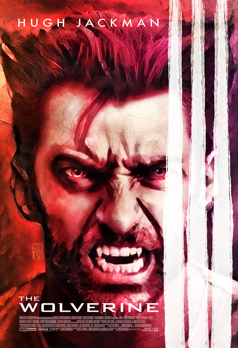 Alternative movie poster of The Wolverine