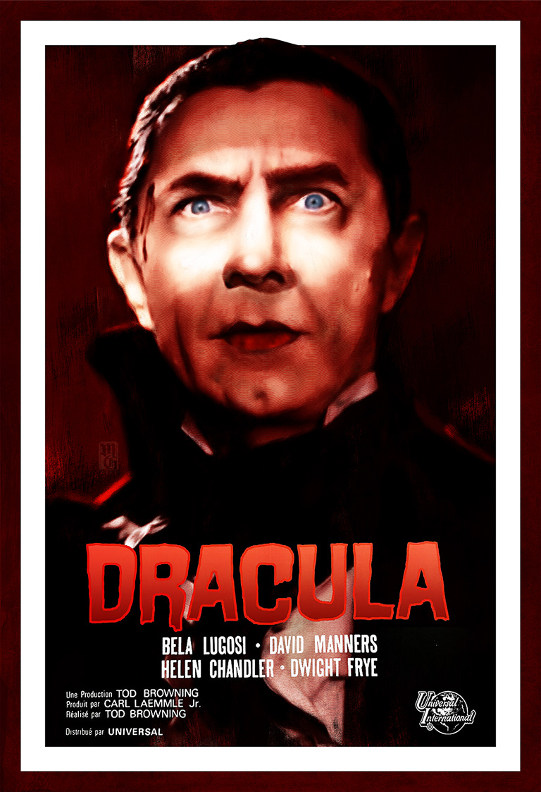 Alternative movie poster for the film Dracula