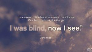 John 9:25 [widescreen]