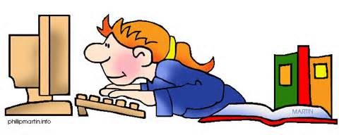 Image result for author at work clipart