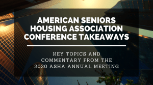 ASHA Annual Meeting 2020