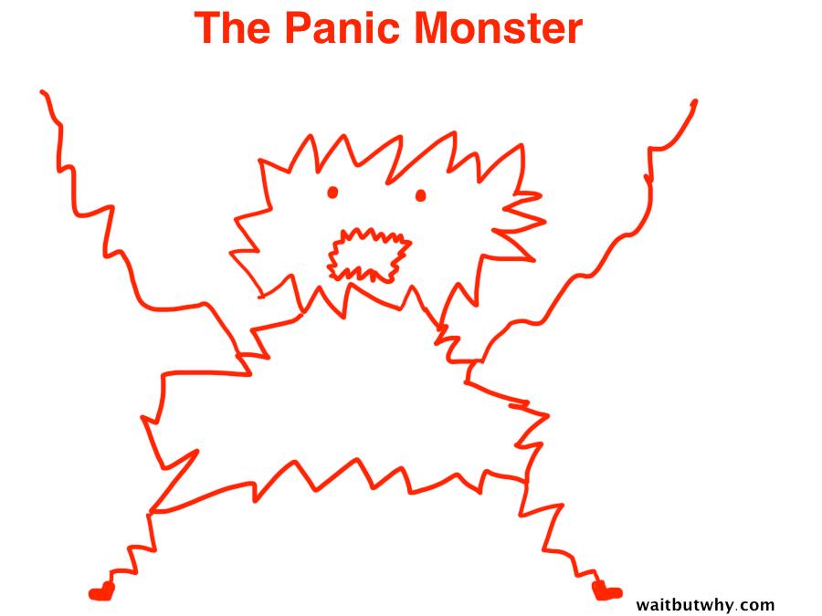 Help me awaken Panic Monster