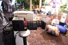 Canon's brand new 18-80mm Compact-Servo (w/o servo grip). More on this tomorrow!