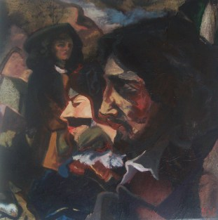 cannibalising courbet double self portrait£120