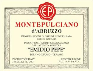 I dream of Emidio Pepe