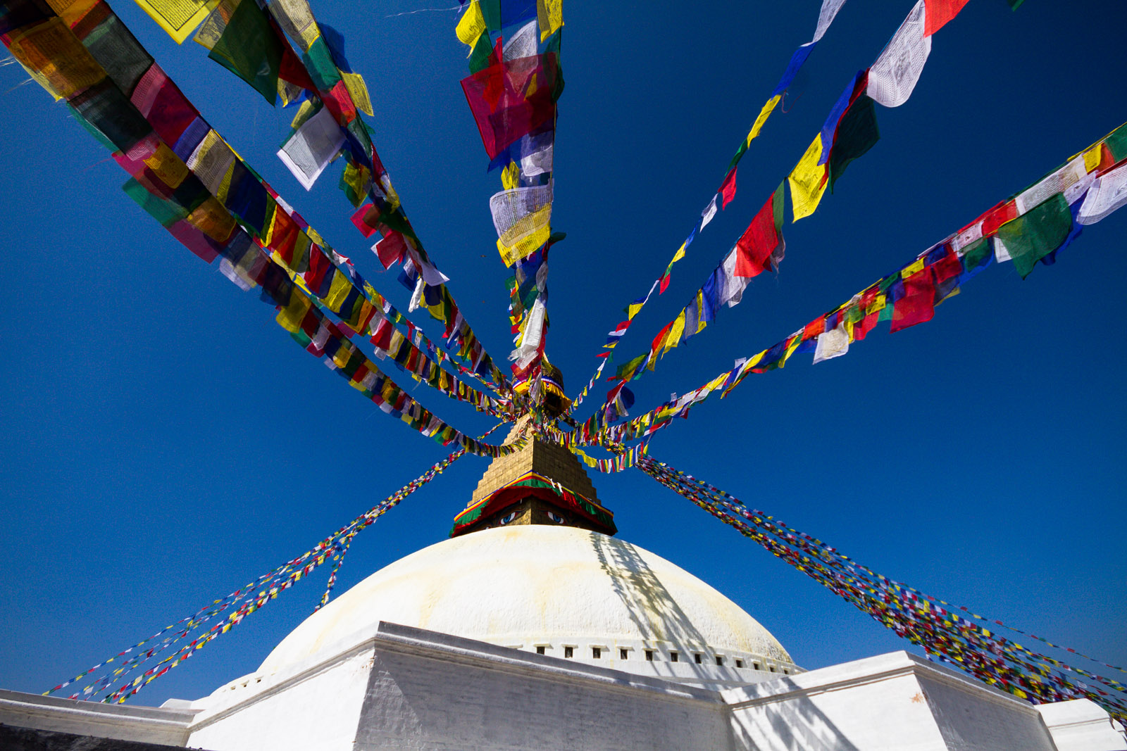 Boudhanath Stupa is a very famous and holy place specially for Buddhists People.