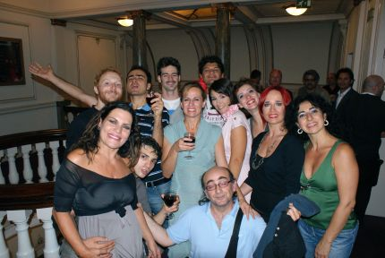 Napoletango after show party, London Coliseum
