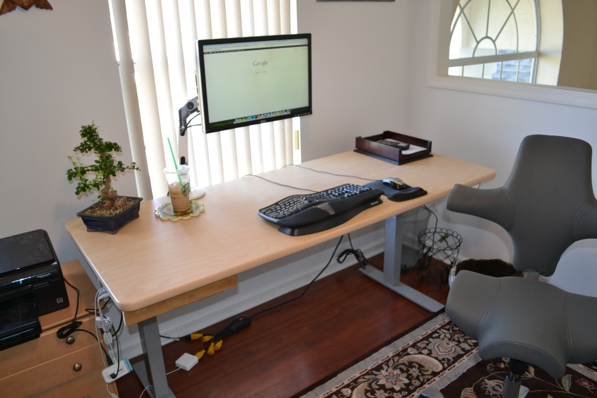 small comfortable chair stool white my new home office, courtesy of automattic and applied ergonomics – matt mazur