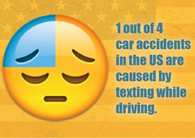 Don't TEXT and DRIVE – PSA
