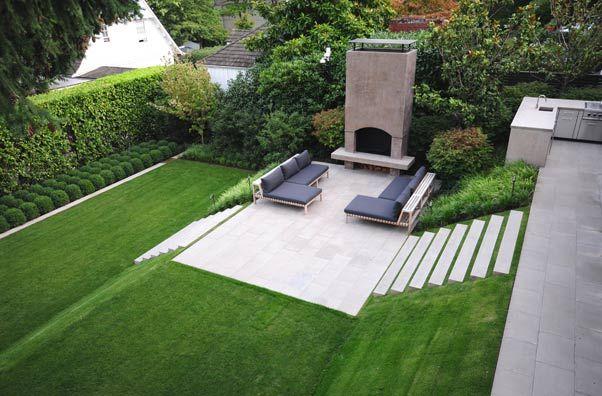 Landscape Ideas Grade Changes Terraces And Steps