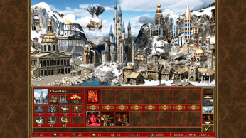 Wizard Town SD - Heroes of Might and Magic III - HD Edition