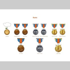 Gamification Medals