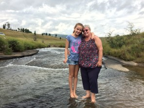 Hannah and the mother.