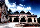PORTALS INTO THE PAST | Dome shaped palace openings in Lodi Gardens | New Delhi