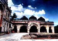 PORTALS INTO THE PAST   Dome shaped palace openings in Lodi Gardens   New Delhi