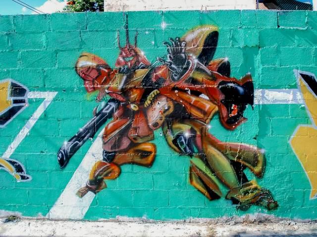 Mural in Cancun