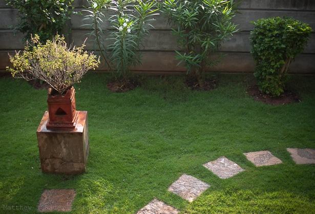 Pondicherry, India Home Garden