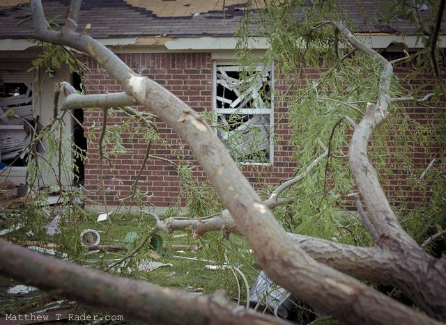 Forney Texas Tornado Damage