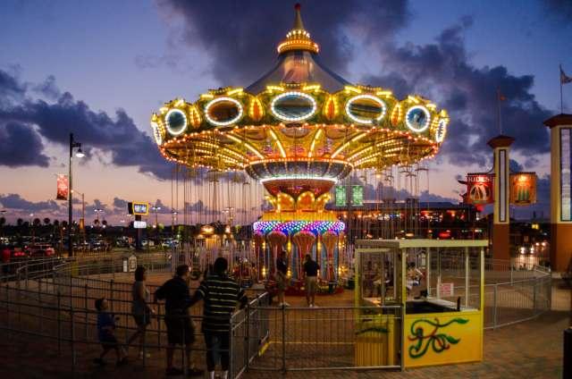 A ride on the Historic Pleasure Pier