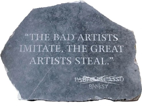 Picasso by Banksy