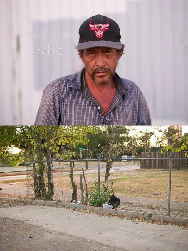 Dallas Homeless People: Pablo