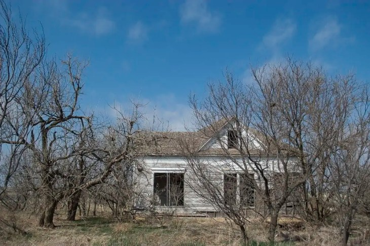 An Abandoned House in North Texas
