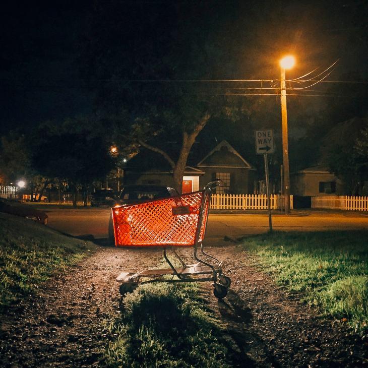 Abandoned Shopping Cart by Matthew T Rader
