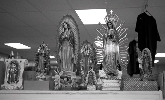 Matthew T Rader - Our Lady Guadalupe Looking Down Upon … (2014)