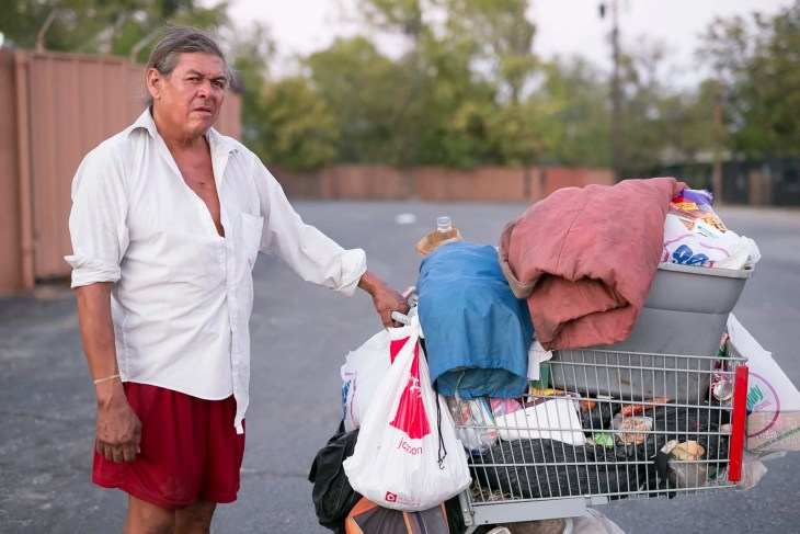 Paul - Portrait of a homeless man in Dallas by Matthew T Rader
