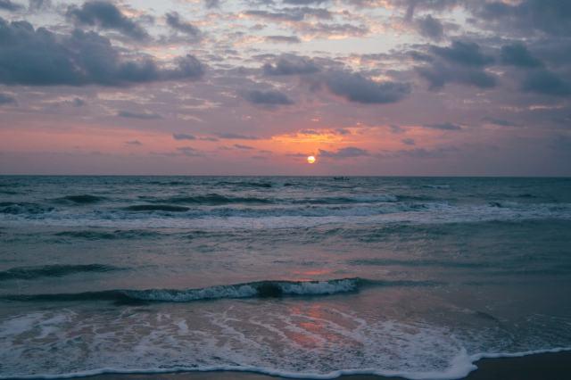 Nagapattinam Beach at Sunrise