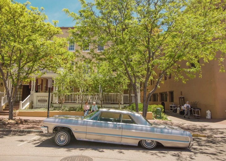 A Lowrider in Santa Fe, New Mexico by Matthew T Rader