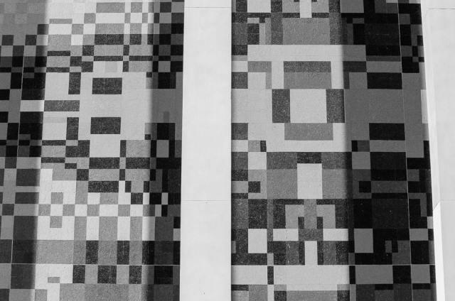Sanger-Harris mosaic by Brenda J. Stubel