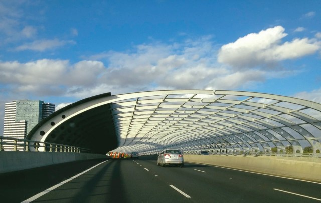 The Sound Tunnel aka The Ribcage Bridge