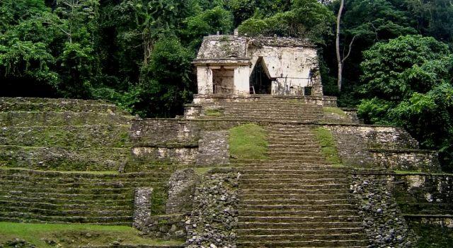 Palenque Mayan Ruins in Chiapas