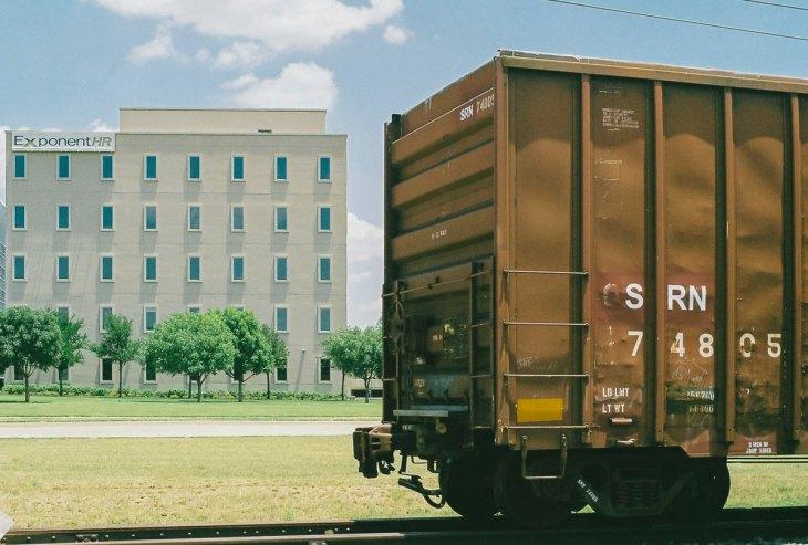 Urban exploring an abandoned rail cars in Addison, Texas