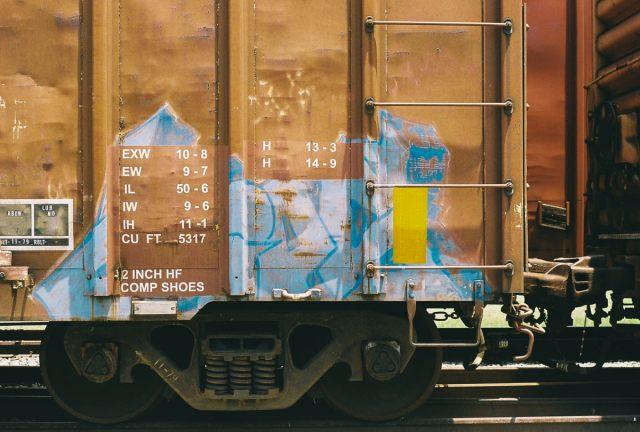 Urbex an abandoned rail car in Addison, Texas