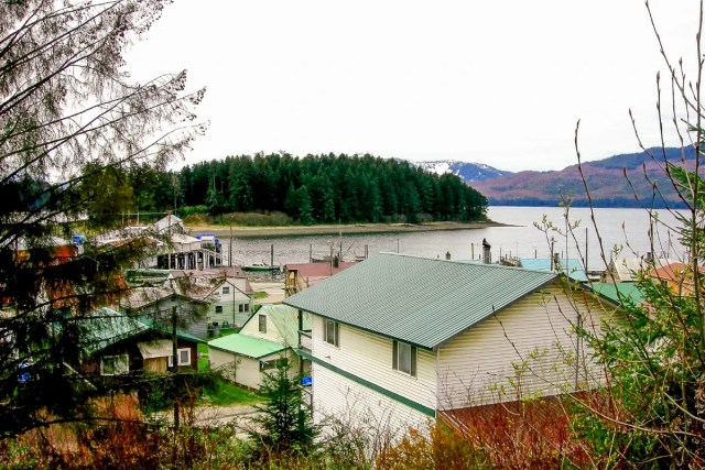 Roof Tops in Juneau, Alaska