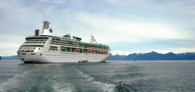 Vision of The Seas Cruise Ship in Alaska