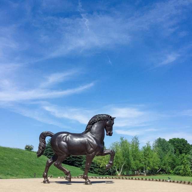Leonardo da Vinci's Horse at the Frederik Meijer Gardens & Sculpture Park