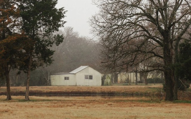 An old house in East Texas