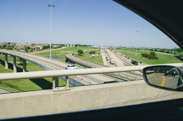 Bridges and highways in Dallas
