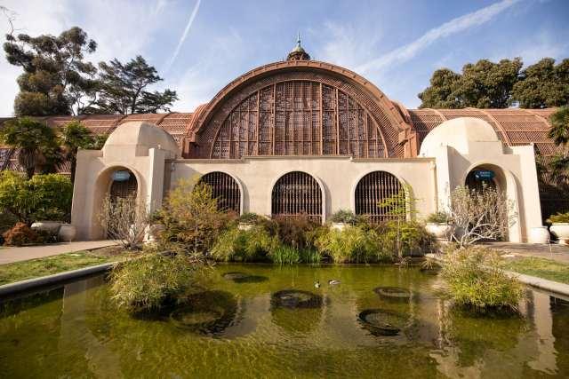 The Botanical Building at Balboa Park