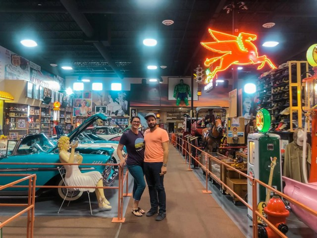 Russell's Travel Center Car and Collectible Museum