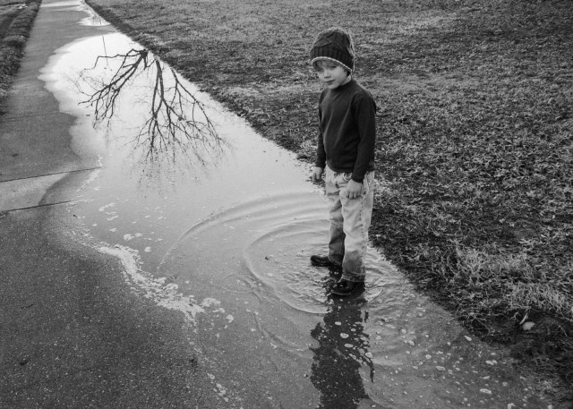 Splashing In Puddles As A Child Demonstrated My Love Of Adventure