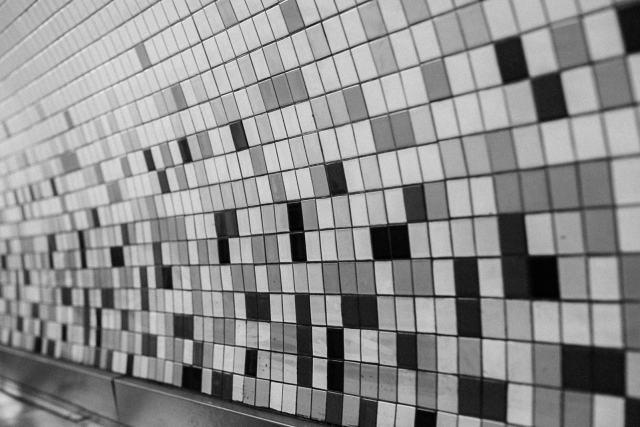 New York City Subway tiles