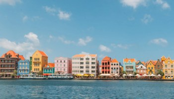 The colorful buildings of Willemstad, Curacao