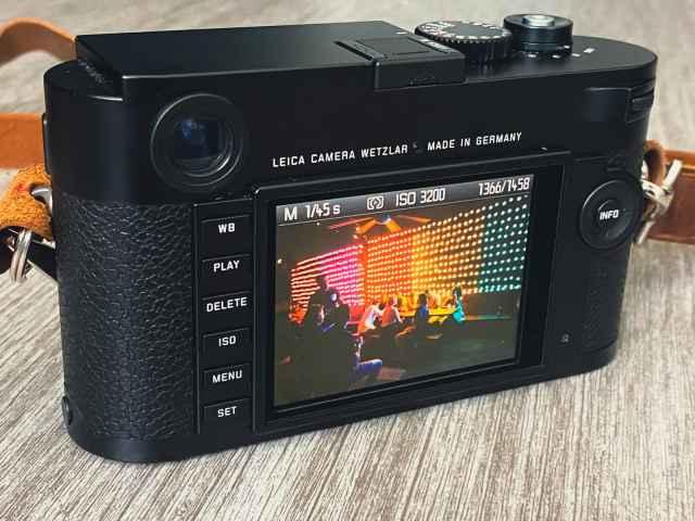 Leica M (Typ 262) back